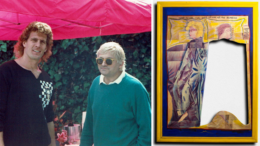 David Hockney Art Piece Purchased Kirk Saber
