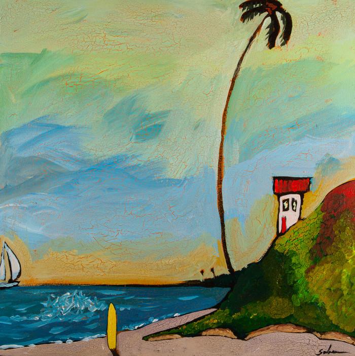 Ocean Landscape by Artist Kirk Saber
