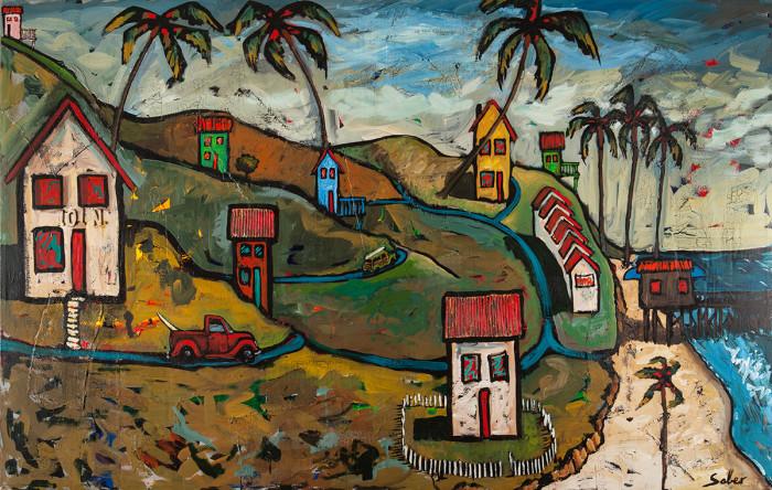 San Clemente Kirk Saber Painting