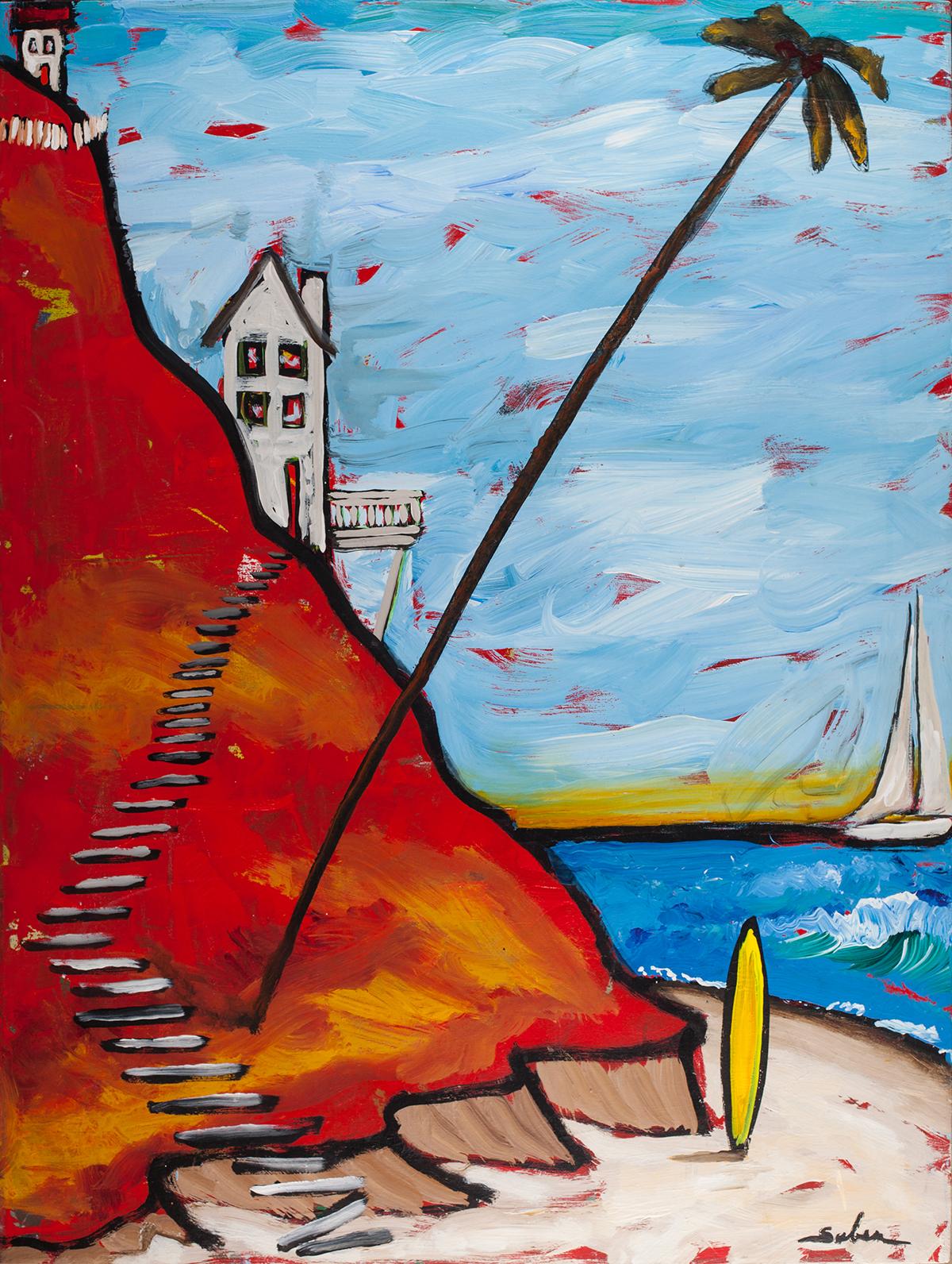 Seascape - Kirk Saber, San Diego Artist
