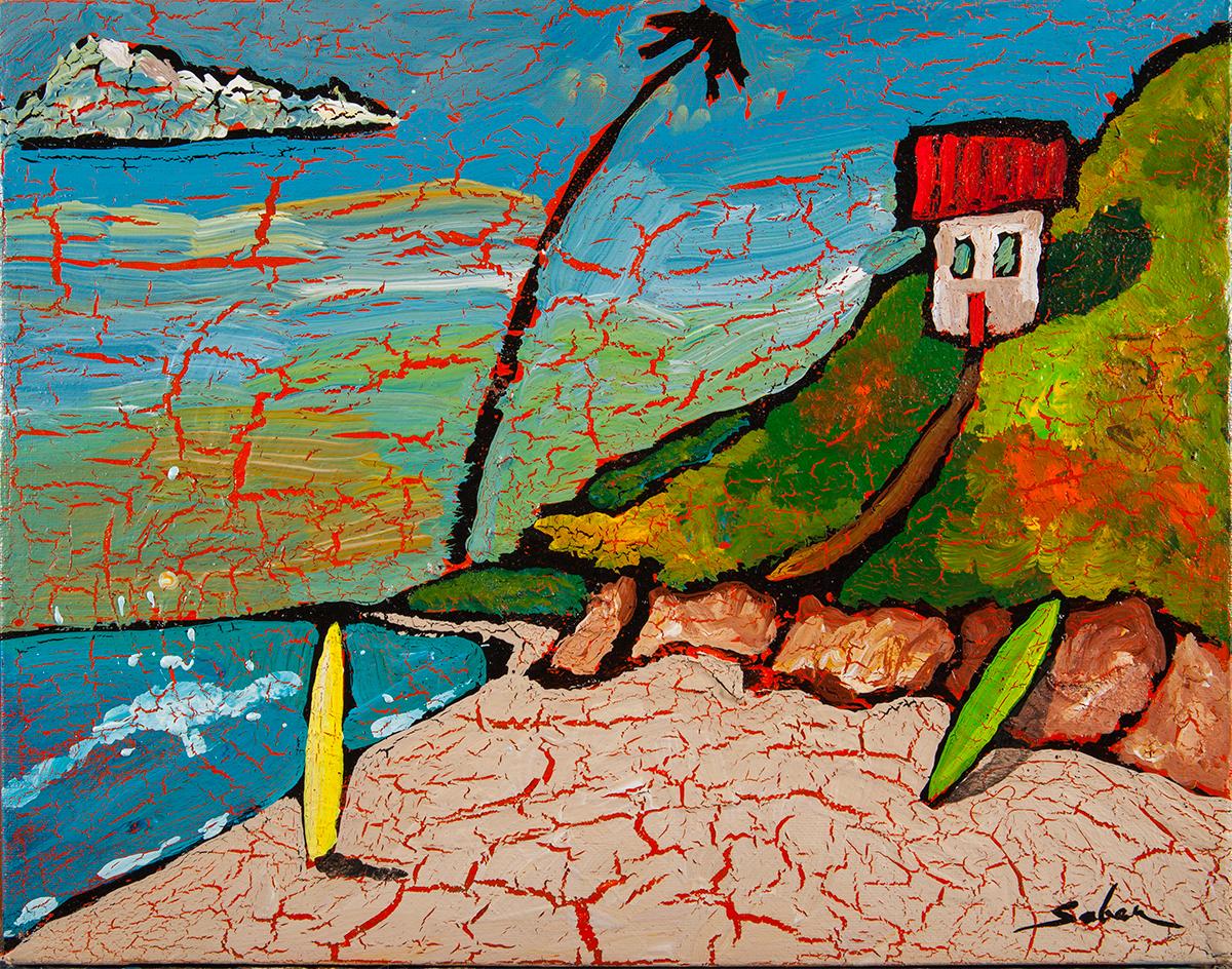 California Artist Kirk Saber