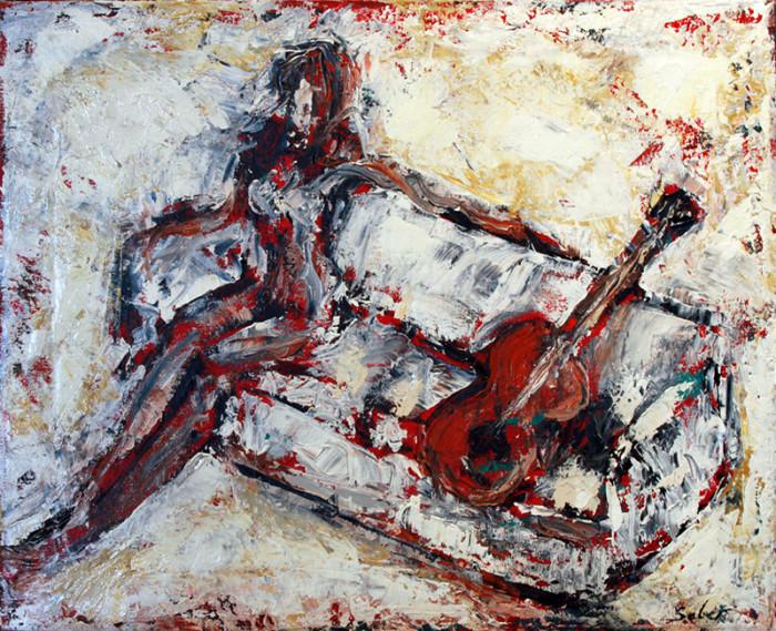 Oil Painting - San Diego Artist Kirk Saber